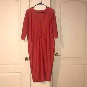 Dresses & Skirts - Cute coral/orange cocktail dress